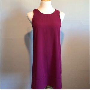 NORDSTROM-LEITH-Pink Sleeveless Tunic Dress Small